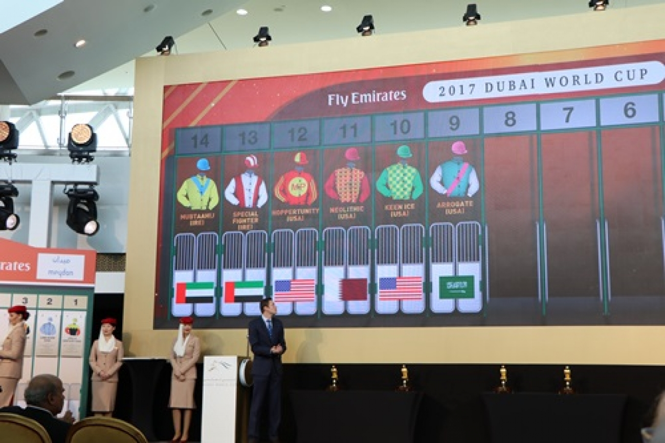 DUBAI WORLD CUP'17